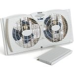 "Holmes Dual Blade Twin Window Fan Review: How It Solves ""Heat"" Problems for People?"