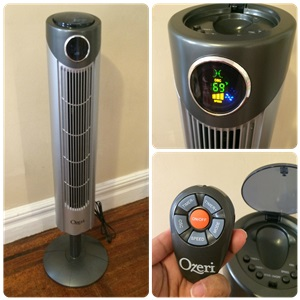 Ozeri Ultra Tower Fan