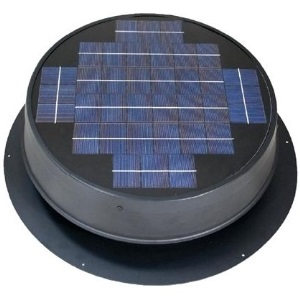 Ultra Low-Profile solar attic fan