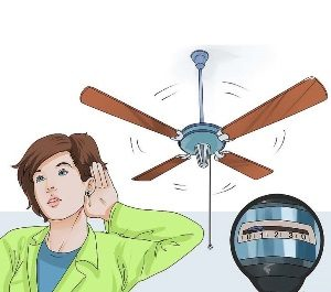 Fix a Noisy Ceiling Fan